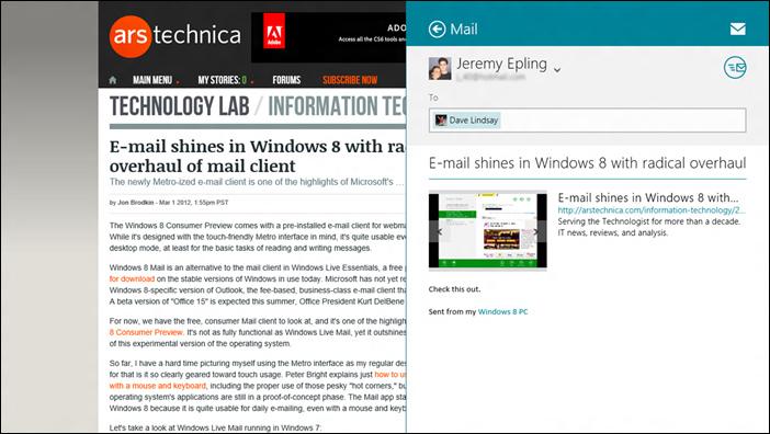 windows 8 mail - 7