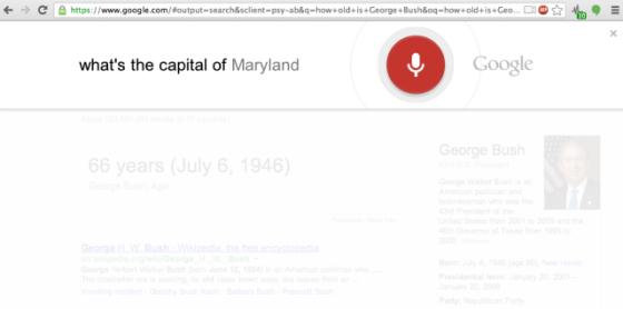 Google 發布新版瀏覽器 Chrome 27 - 增加語音搜索功能
